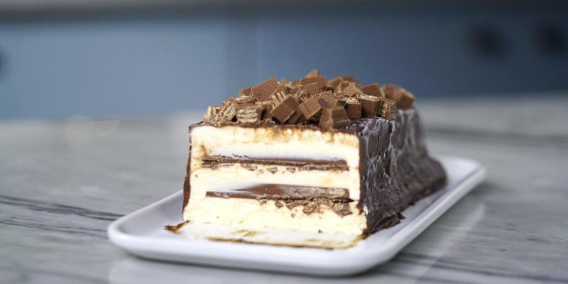 Torta de Sorvete Kitkat