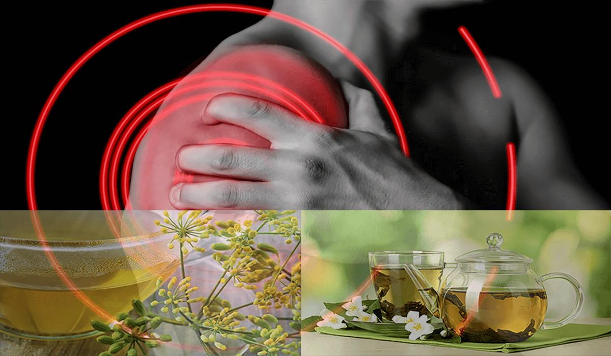 Chá para dor muscular