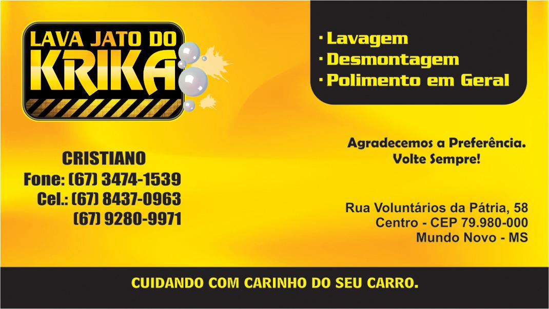 Lava Jato do Krika