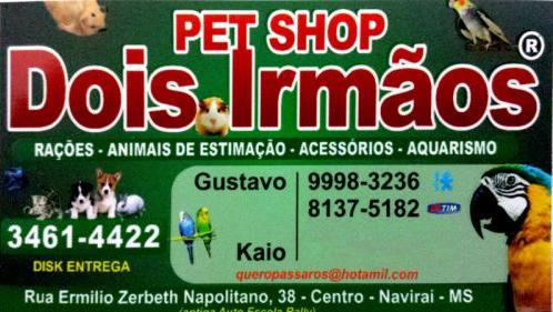 Pet Shop Dois Irmãos