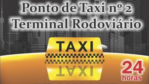 Ponto de Táxi Nº 2 – Terminal Rodoviário