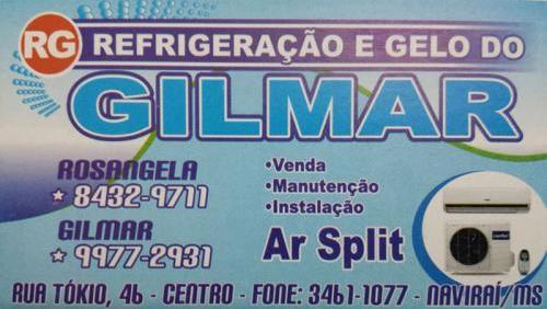 Refrigeração e gelo do Gilmar
