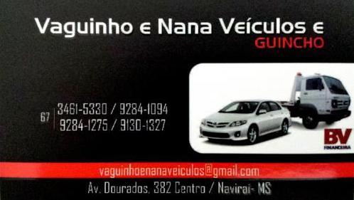 Vaguinho e Nana Veiculos e Guinchos